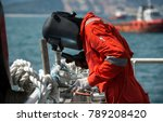 rigger fabricated and welding... | Shutterstock . vector #789208420