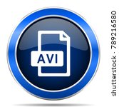 avi file vector icon. modern...