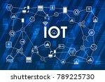 internet of things  iot ... | Shutterstock .eps vector #789225730