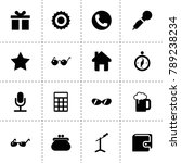 trendy icons. vector collection ...