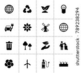 ecology icons. vector...