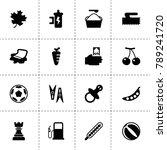 closeup icons. vector...