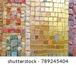 gold  bright and colorful... | Shutterstock . vector #789245404