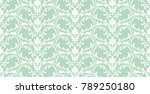floral pattern. wallpaper... | Shutterstock .eps vector #789250180
