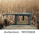 A Place to Rest on a Marsh Walk at Parker River Wildlife Refuge on Plum Island