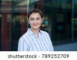 professional portrait of a... | Shutterstock . vector #789252709
