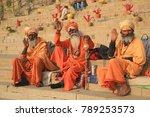varanasi  india   december 3 ... | Shutterstock . vector #789253573