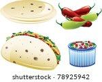 illustrations of different... | Shutterstock .eps vector #78925942