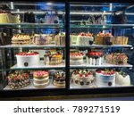 Showcase With Cakes