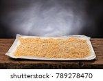 raw handmade italian pasta... | Shutterstock . vector #789278470