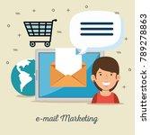email marketing internet...   Shutterstock .eps vector #789278863