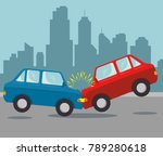 car insurance service concept  | Shutterstock .eps vector #789280618