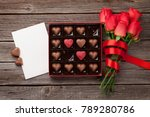 valentines day greeting card... | Shutterstock . vector #789280786