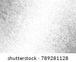 grunge halftone dots texture... | Shutterstock . vector #789281128