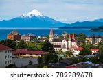 Town Of Puerto Varas With...