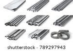 rolled metal products. steel... | Shutterstock . vector #789297943