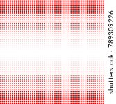 modern textured halftone of... | Shutterstock .eps vector #789309226