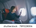 traveling and technology.... | Shutterstock . vector #789328006