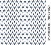 seamless pattern. geometric...   Shutterstock .eps vector #789364024