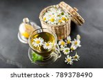 cup of chamomile tea | Shutterstock . vector #789378490