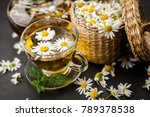 cup of chamomile tea | Shutterstock . vector #789378538
