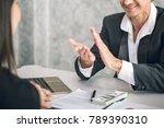 boss business man employer... | Shutterstock . vector #789390310