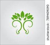 tree logo icon | Shutterstock .eps vector #789409090
