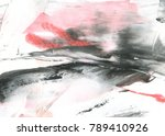 abstract ink background. marble ... | Shutterstock . vector #789410926
