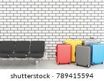 3d illustration. departure... | Shutterstock . vector #789415594