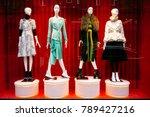 women's clothing store.... | Shutterstock . vector #789427216