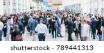 large crowd of anonymous... | Shutterstock . vector #789441313