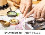 travel plan  trip vacation ... | Shutterstock . vector #789444118