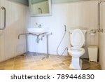interior of bathroom for the... | Shutterstock . vector #789446830
