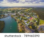 aerial view of south gippsland...   Shutterstock . vector #789460390