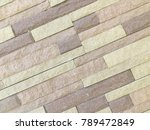 Pattern Of Modern Stone Brick...