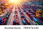 logistics and transportation of ... | Shutterstock . vector #789476140