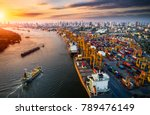 logistics and transportation of ... | Shutterstock . vector #789476149