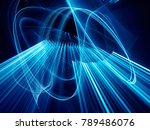 abstract blue and black... | Shutterstock . vector #789486076