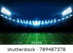 american football arena field... | Shutterstock .eps vector #789487378