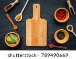 mock up for menu or recipe.... | Shutterstock . vector #789490669