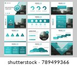 green bundle infographic... | Shutterstock .eps vector #789499366