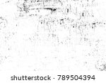 grunge black and white pattern. ... | Shutterstock . vector #789504394