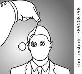Businessman Being Hypnotized...