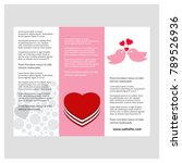 valentine's day greetings card    Shutterstock .eps vector #789526936