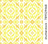 seamless embroidered texture of ... | Shutterstock .eps vector #789529468