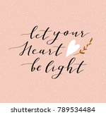 hand lettered inspirational...