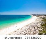 a beautiful summer day at... | Shutterstock . vector #789536020