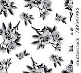 seamless vector vintage pattern ...   Shutterstock .eps vector #789547483
