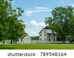 A Small Farmstead In The...