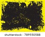 grunge texture background... | Shutterstock .eps vector #789550588